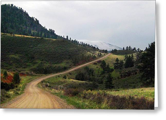 Luminist Greeting Cards - Walking West Greeting Card by Ric Soulen