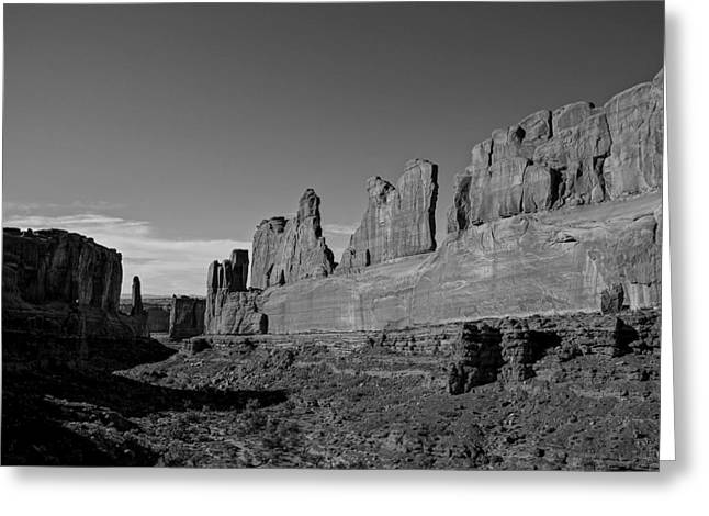 Wall Street Greeting Cards - Wall Street Arches National Park Utah Greeting Card by Scott McGuire