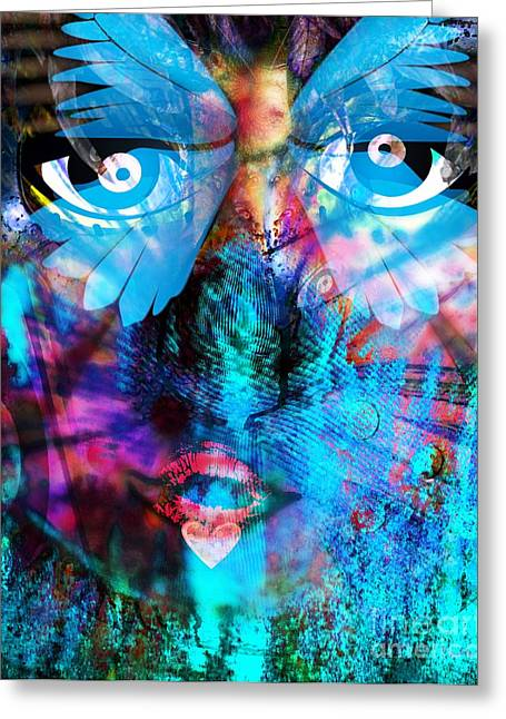 The Followers Digital Art Greeting Cards - Wandering Thoughts - Untitled Desire Greeting Card by Fania Simon