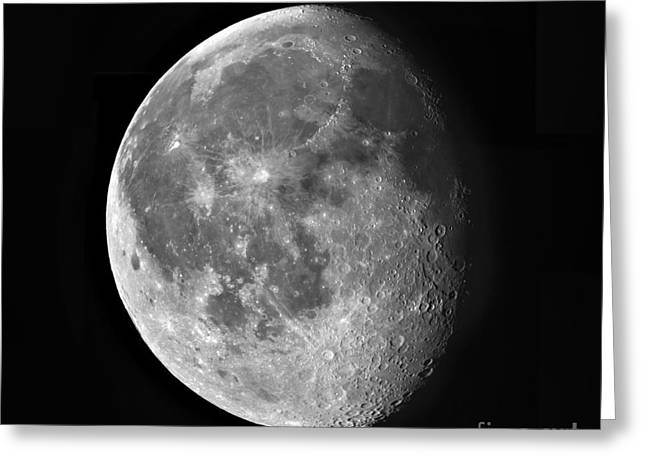 Waning Moon Greeting Cards - Waning Moon Greeting Card by Robert Gendler