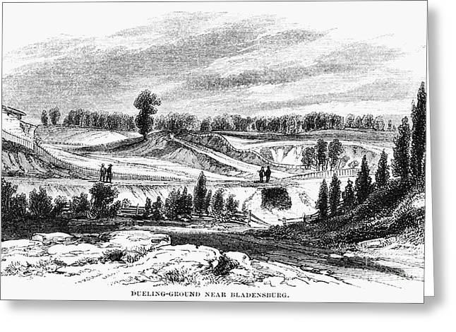 British Defeat Greeting Cards - War Of 1812: Bladensburg Greeting Card by Granger