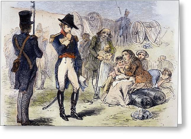 U.s Army Greeting Cards - War Of 1812: Fort Detroit Greeting Card by Granger