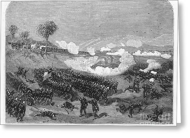 1880s Photographs Greeting Cards - War Of The Pacific, 1879-1884 Greeting Card by Granger