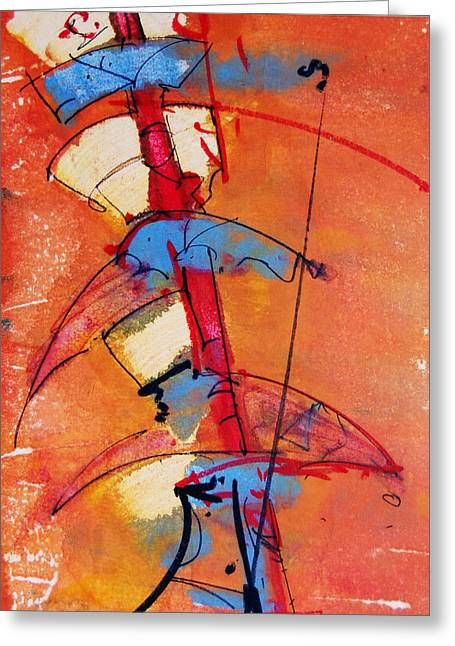 Brigade Mixed Media Greeting Cards - War Tools Greeting Card by Jorge Luis Bernal