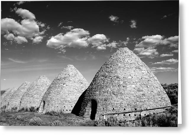 Ward Charcoal Ovens Greeting Card by Scott McGuire