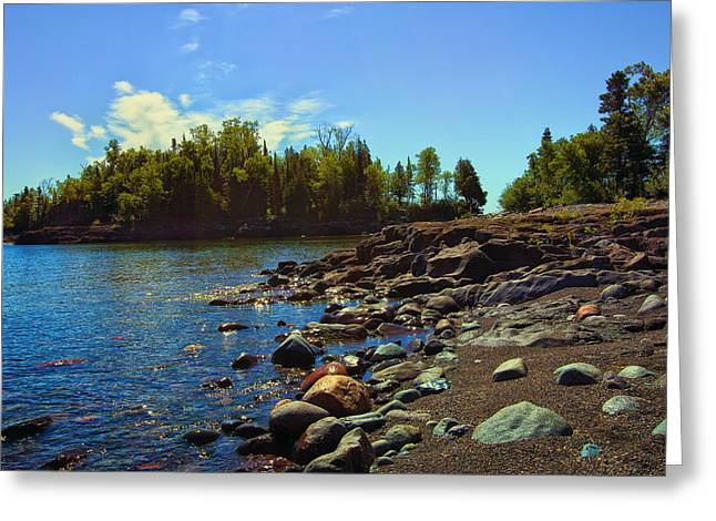 North Shore Greeting Cards - Warmth of Sugarloaf Cove Greeting Card by Bill Tiepelman