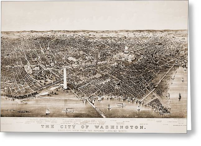 The North Greeting Cards - Washington D.c., 1892 Greeting Card by Granger