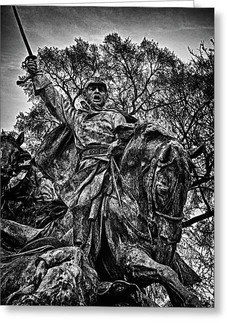 Russian Civil War Greeting Cards - Washington DC Memorial Detail No 15 Greeting Card by Val Black Russian Tourchin