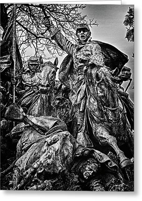 Russian Civil War Greeting Cards - Washington DC Monument Detail No 12 Greeting Card by Val Black Russian Tourchin