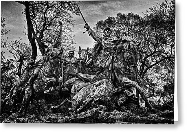 Russian Civil War Greeting Cards - Washington DC Monument Detail No 13 Greeting Card by Val Black Russian Tourchin