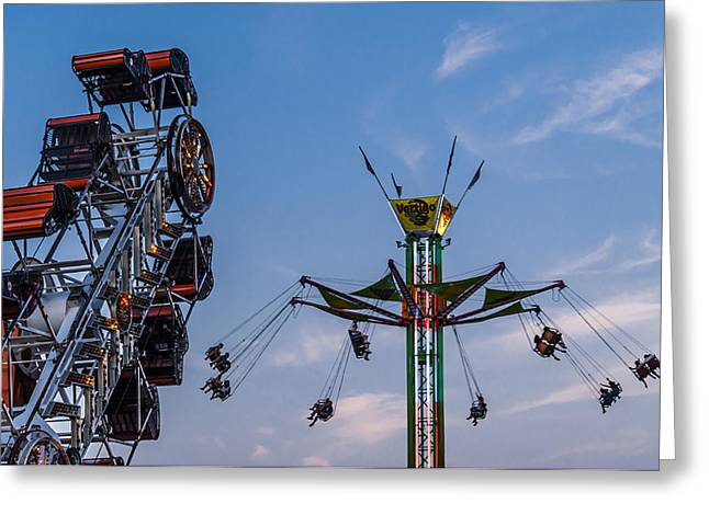 Country Fair Greeting Cards - Washington Town and Country Fair Greeting Card by James Bull