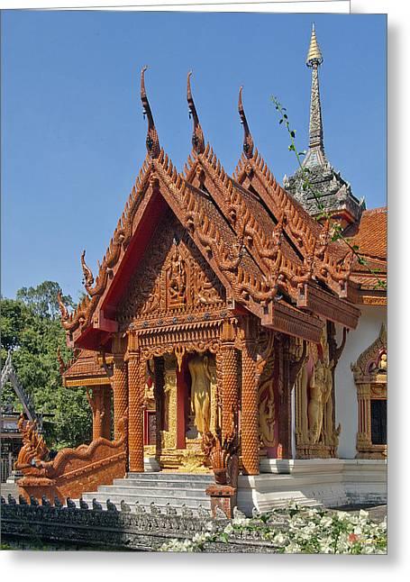 Wat Ban Tha Bo Ubosot Dthu200 Greeting Card by Gerry Gantt