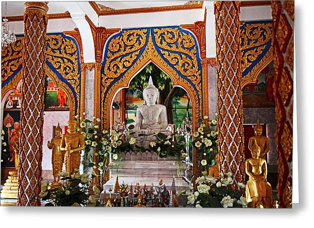 Wat Chalong 4 Greeting Card by Metro DC Photography