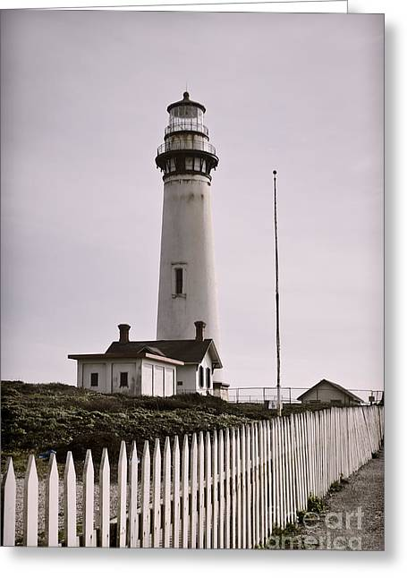 Californian Greeting Cards - Watch Tower Greeting Card by Heather Applegate
