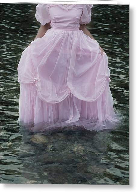 Pink Skirt Greeting Cards - Water Bride Greeting Card by Joana Kruse