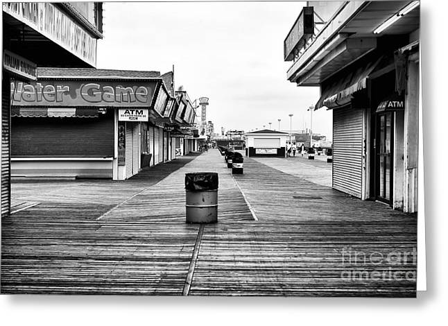 Seaside Heights Greeting Cards - Water Game Greeting Card by John Rizzuto