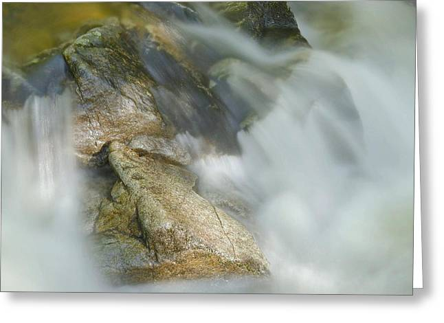 Water Movement Greeting Cards - Water Movement Detail 15 Greeting Card by Stephen  Vecchiotti