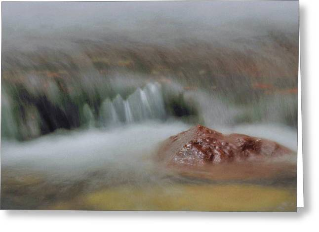 Buttermilk Falls Greeting Cards - Water Movement Detail 8 Greeting Card by Stephen  Vecchiotti