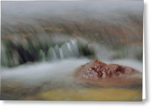 Water Movement Detail 8 Greeting Card by Stephen  Vecchiotti