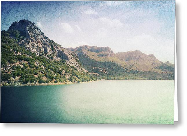 Water Of Life Greeting Card by Angela Doelling AD DESIGN Photo and PhotoArt