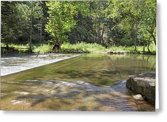 Wildlife Preserve Greeting Cards - Water Over The Bridge Greeting Card by Betsy A  Cutler