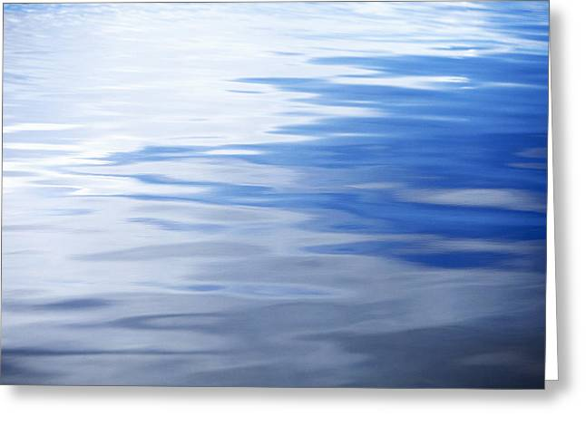 Reverence Greeting Cards - Water Reflections 6 Greeting Card by Skip Nall