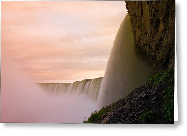 Niagara Falls Greeting Cards - Water Greeting Card by Sebastian Musial
