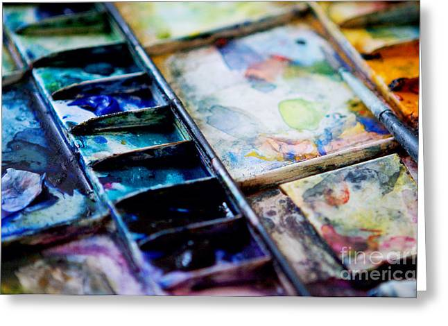Creating Greeting Cards - Watercolors Greeting Card by Kim Fearheiley