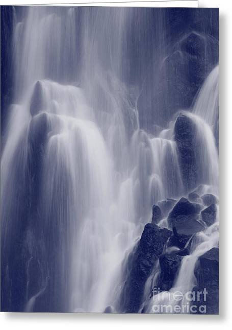 Azores Greeting Cards - Waterfall Greeting Card by Gaspar Avila