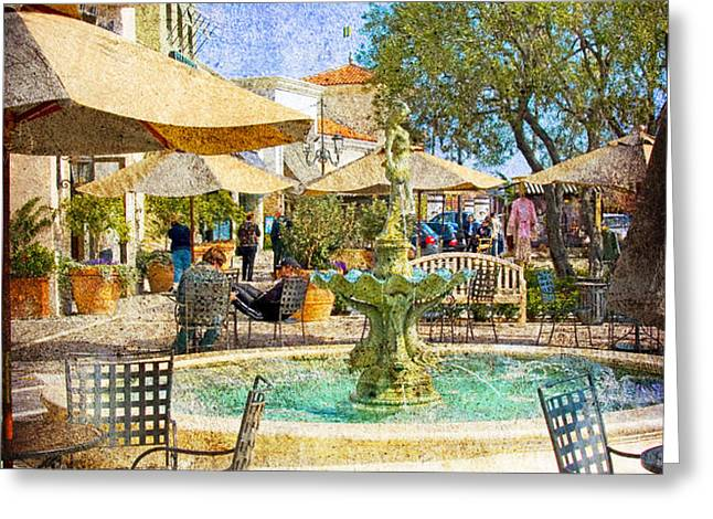 Waterside Greeting Card by Chuck Staley