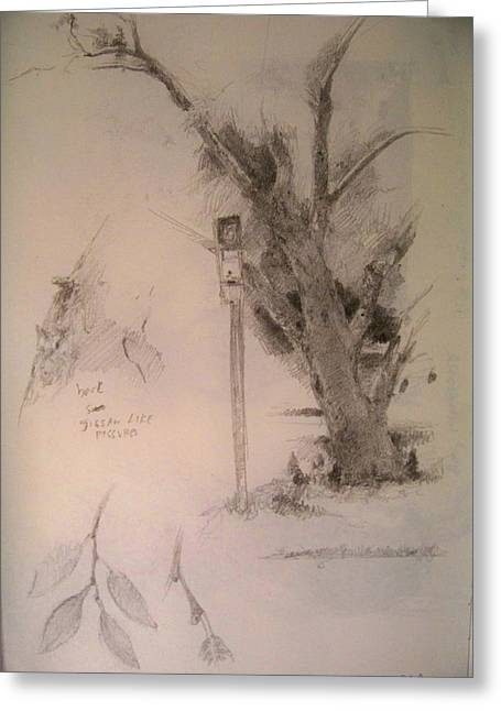 Sketchbook Greeting Cards - Watson Clinic  Greeting Card by Tony Corbitt