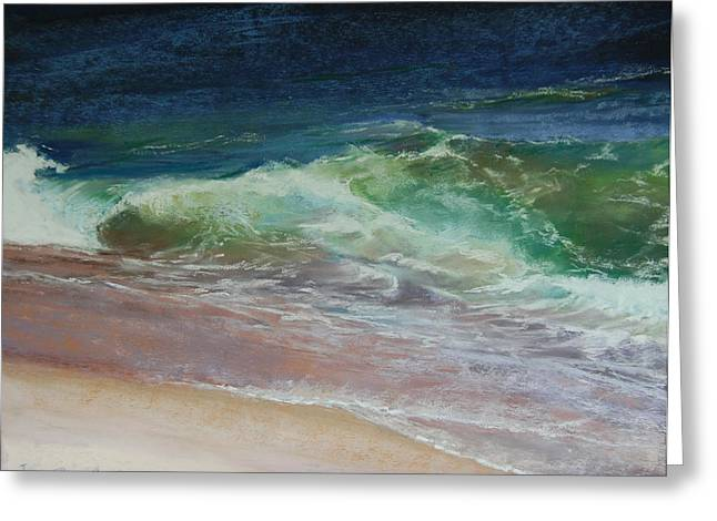 New England. Pastels Greeting Cards - Wauwinet Wave III Greeting Card by Jeanne Rosier Smith