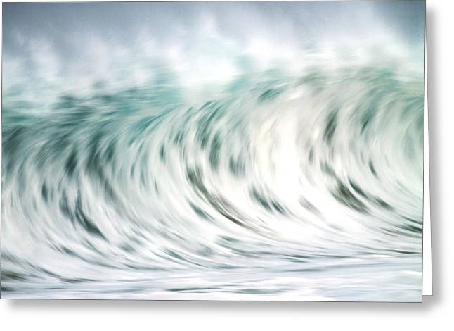 Vince Greeting Cards - Wave in Motion Greeting Card by Vince Cavataio - Printscapes