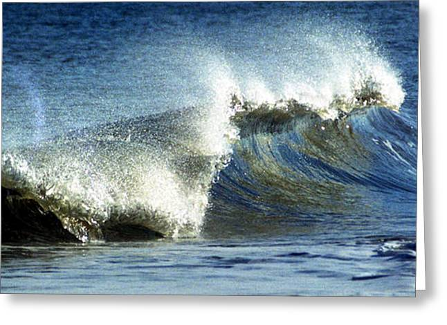 Ocean Art Photography Greeting Cards - Wave Greeting Card by Skip Willits