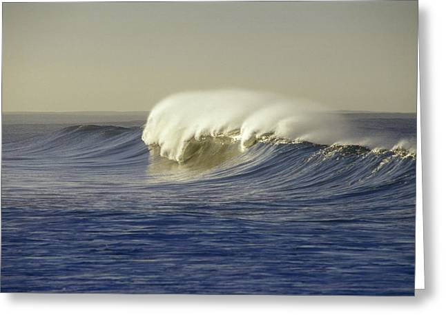 Ventura California Greeting Cards - Waves Breaking At Sunrise With Offshore Greeting Card by Rich Reid