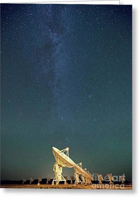 Observatory Greeting Cards - We can hear you Greeting Card by Keith Kapple