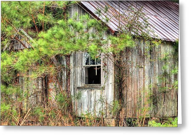 Weathered Greeting Card by JC Findley