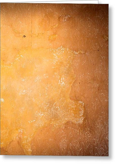 Abstract Style Greeting Cards - Weathered wall Greeting Card by Tom Gowanlock