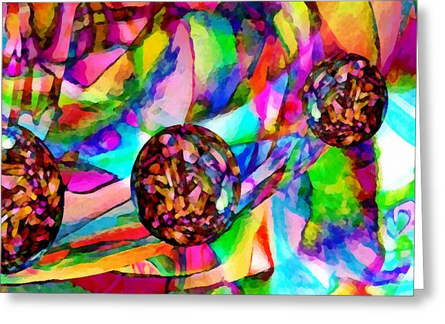 Life Experience Greeting Cards - Welcome To My World Dissection 3 Greeting Card by Angelina Vick