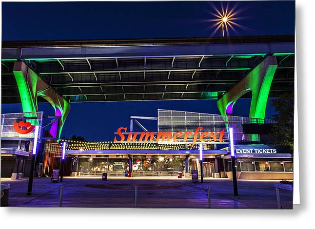 Summerfest Greeting Cards - Welcome to the Fest Greeting Card by CJ Schmit