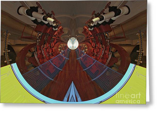 Recently Sold -  - Tron Greeting Cards - Welcome To The Grid Greeting Card by Scott Evers