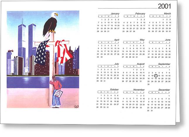 Bin Laden Greeting Cards - Well never forget Greeting Card by Troy Guillory