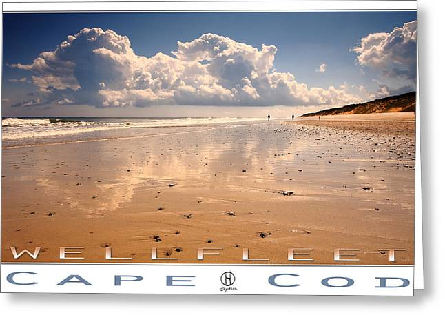 Marconi Beach Greeting Cards - Wellfleet Greeting Card by Dapixara Art