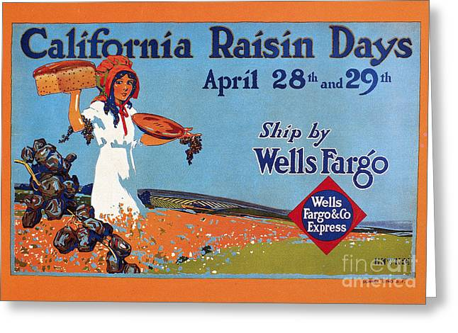 Express Greeting Cards - Wells Fargo Express, 1918 Greeting Card by Granger