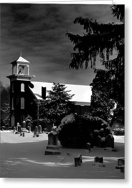 Photogaphy Greeting Cards - Wesley Chapel Greeting Card by Skip Willits