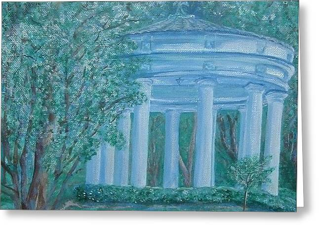 French Lick Indiana Greeting Cards - West Baden Gazebo Greeting Card by Julie Cranfill