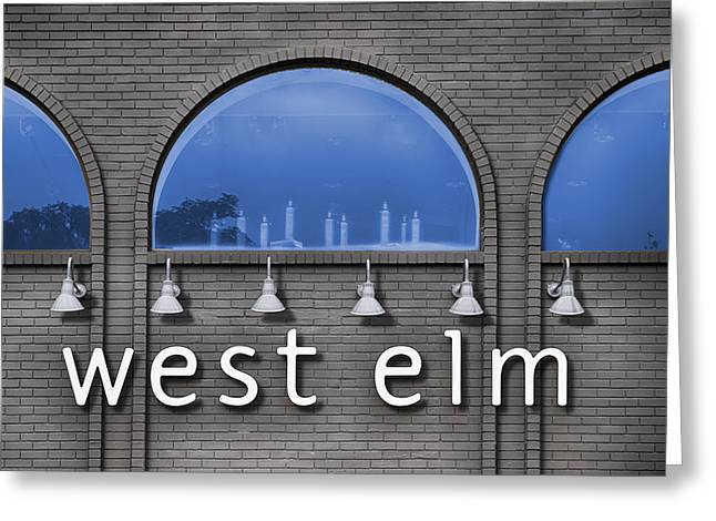 Elm St Greeting Cards - West Elm Greeting Card by Paul Wear