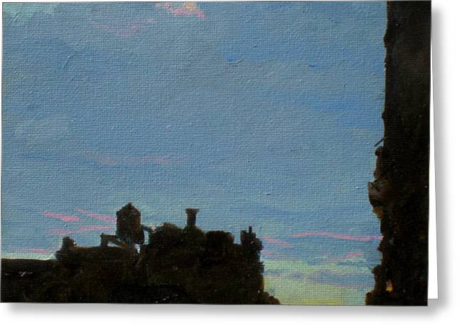 West Side Nocturne No. 1 Greeting Card by Peter Salwen