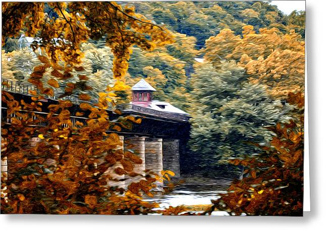 Harpers Ferry Digital Greeting Cards - West Virginia Morn Greeting Card by Bill Cannon