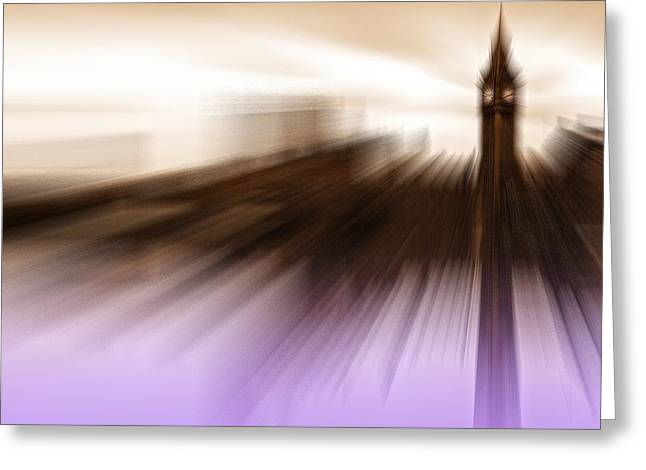 Politics Prints Greeting Cards - Westminster whispers Greeting Card by Sharon Lisa Clarke